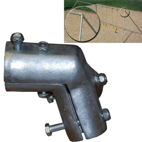 Pipe Swing Set Frame Hanger 2 3/8 Or 2.5 Pipe Swing Frame Fitting End Playground Hardware (1) You Need 2 For Each Swing