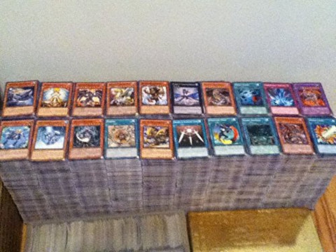 500 Assorted Yugioh Cards Including Rare, Ultra Rare And Holographic Cards