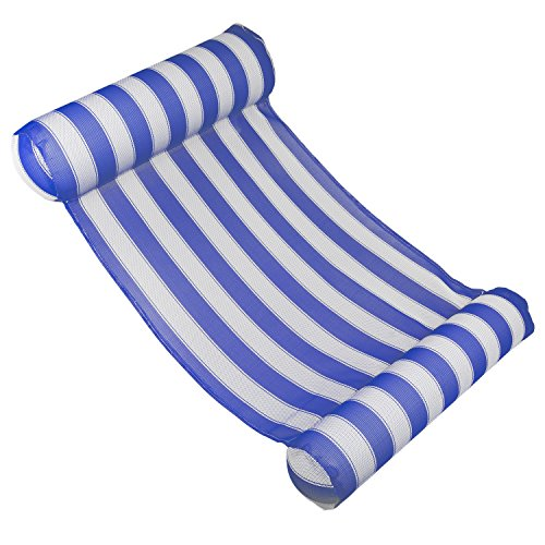 Poolmaster Pool Float 07431 Floating Water Hammock Lounge - Blue