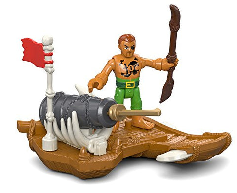 Fisher-Price Imaginext Captain Kid & Surf Board