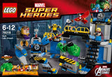 Lego Super Heroes 76018: Hulk Lab Smash