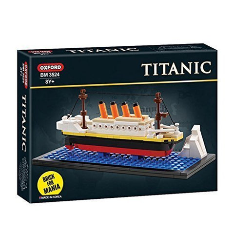 Oxford Mini Titanic Building Block Brick Kit Bm3524 By Vipzon