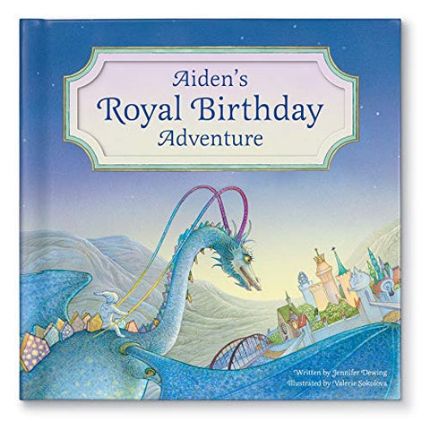 Personalized Custom Name Birthday Book For Kids Dragon Edition | Best Birthday Gift For Kids