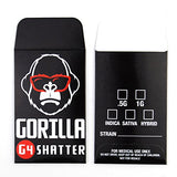 25 Premium Gorilla Extracts Strain Label Concentrate Packaging Shatter Envelopes #091