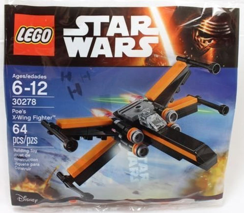Lego 30278 Star Wars Poe'S X-Wing Fighter 64Pcs New