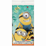 Despicable Me Minions Plastic Tablecloth, 84 X 54