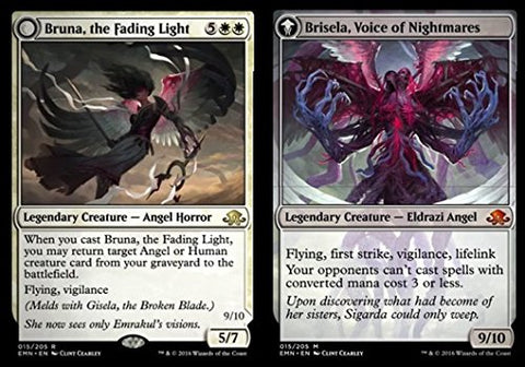 Magic: The Gathering - Bruna, The Fading Light // Brisela, Voice Of Nightmares (015/205) - Eldritch Moon