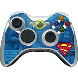 Dc Comics Superman Xbox 360 Wireless Controller Skin - Superman Logo Vinyl Decal Skin For Your Xbox 360 Wireless Controller