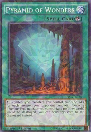 Yu-Gi-Oh! - Pyramid Of Wonders (Bp03-En168) - Battle Pack 3: Monster League - 1St Edition - Shatterfoil