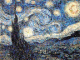 Buffalo Games Photomosaic: Starry Night