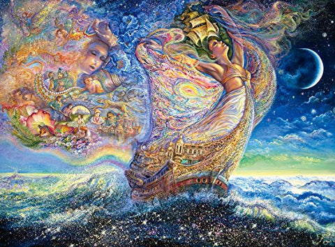 Buffalo Games Ocean Of Dreams (Glitter Edition) By Josephine Wall Jigsaw Puzzle (1000 Piece)