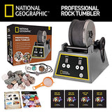 National Geographic Professional Rock Tumbler (Improved Quality Sept. 2016)