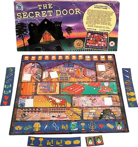 Family Pastimes Secret Door - An Award Winning Co-Operative Mystery Game