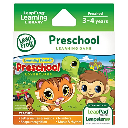 Leapfrog Learning Friends: Preschool Adventures Learning Game (For Leappad3, Leappad2, Leappad1, Leapster Explorer, Leapstergs Explorer)