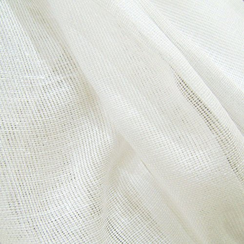 10 Yards White Tobacco Cloth Cotton Fabric Lightweight For Wedding Decor By Jubilee Creative Studio