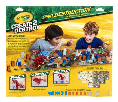 Crayola Create 2 Destroy Dino Destruction Metropolitan Mayhem