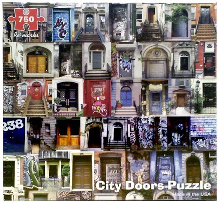 750 Piece City Doors Puzzle