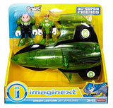 Fisher-Price Imaginext Dc Super Friends, Green Lantern And Kilowog Figure