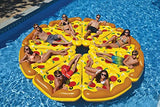 72 Water Sports Inflatable Pizza Slice Novelty Swimming Pool Float Raft