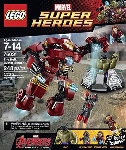 Lego Super Heroes The Hulk Buster Smash - 76031