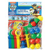 Amscan Amazing Paw Patrol Birthday Party Mega Mix Value Pack Favors , 11 1/2 X 9, Multicolor