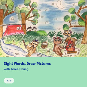 Sight Words, Draw Pictures
