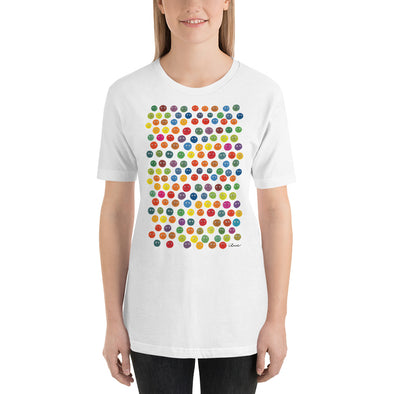 Women's Mixed T-Shirt, Short-Sleeve