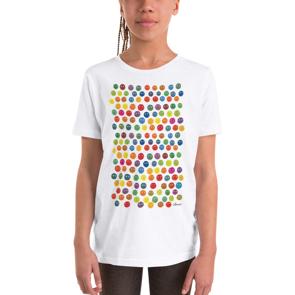 Youth Mixed T-Shirt, Short-Sleeve