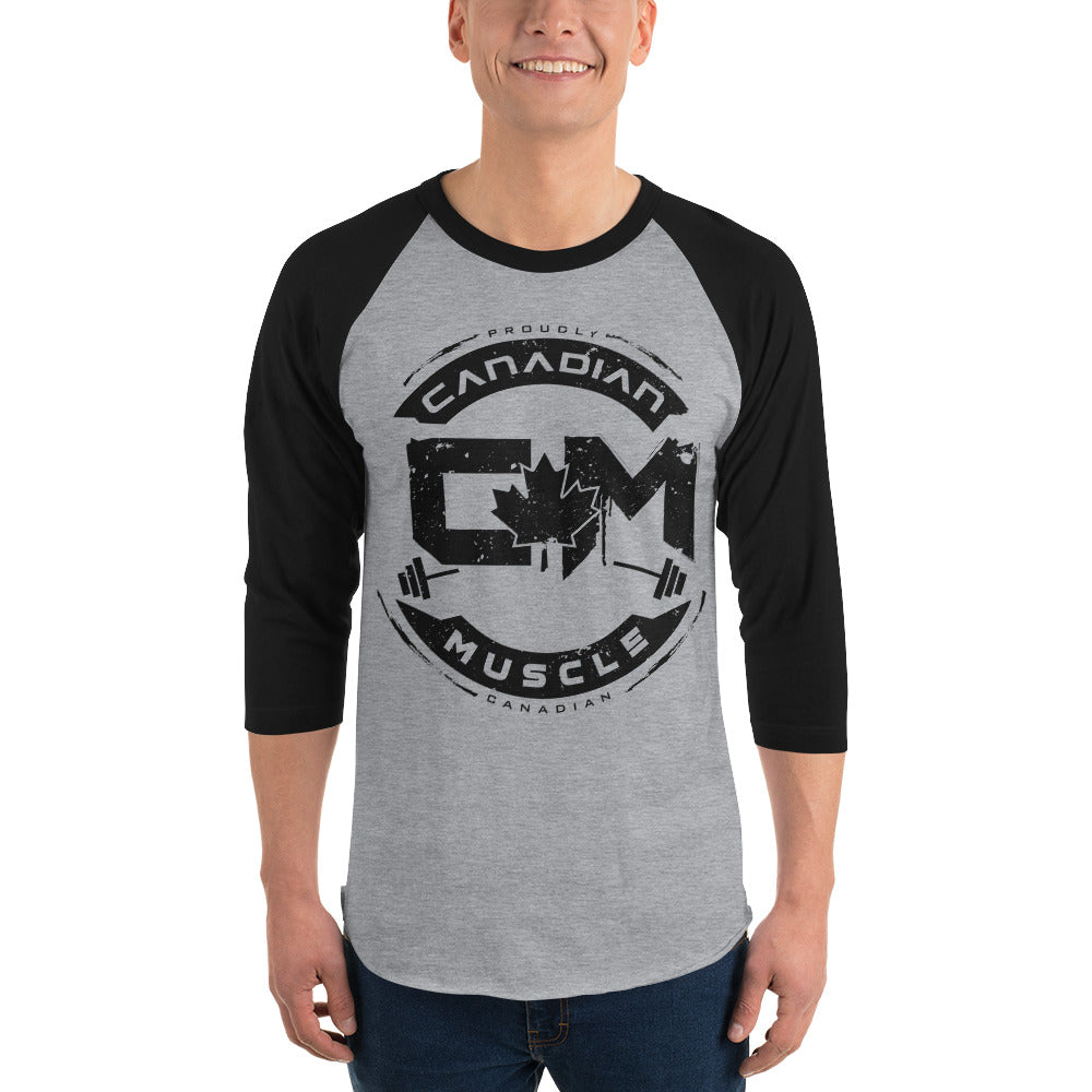 Classic Men's 3/4 Sleeve Baseball Tee