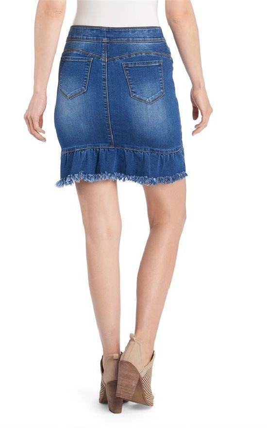 ** Coco + Carmen OMG Denim Skirt-Coco + Carmen-Sandy's Secret Wednesdays Unique Boutique