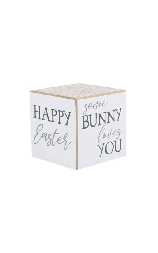 *Easter Sayings Cube-Collins Painting & Design-Sandy's Secret Wednesdays Unique Boutique