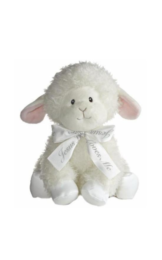"Ebba Blessings Lamb 12""-Elegant Baby-Sandy's Secret Wednesdays Unique Boutique"
