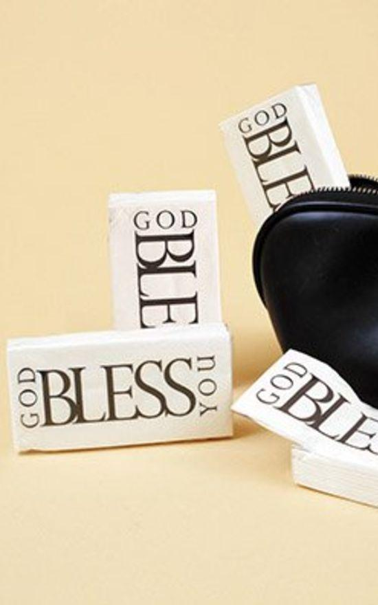 Creative Brands - God Bless You Tissue-Faithworks-Sandy's Secret Wednesdays Unique Boutique
