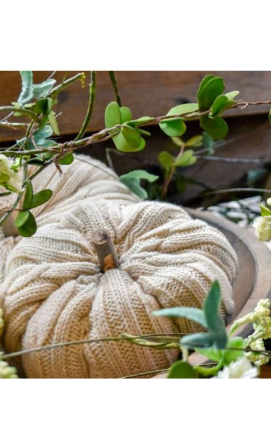 Ragon House - Knit Pumpkin-Ragon House-Sandy's Secret Wednesdays Unique Boutique