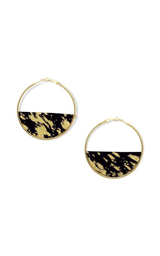 Glimmering Hoops Earrings-Myra Bags-Sandy's Secret Wednesdays Unique Boutique