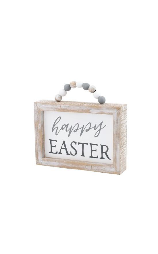 *Happy Easter Box Sign-Collins Painting & Design-Sandy's Secret Wednesdays Unique Boutique