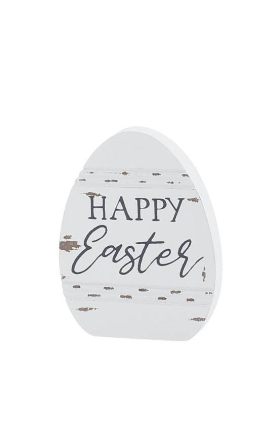 *Happy Easter Egg Sign-Collins Painting & Design-Sandy's Secret Wednesdays Unique Boutique