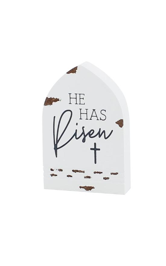 *He Has Risen Temple Sign-Collins Painting & Design-Sandy's Secret Wednesdays Unique Boutique