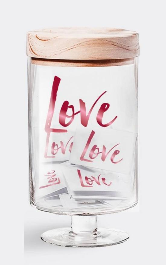 Love Jar-Gratitude Glass Jars-Sandy's Secret Wednesdays Unique Boutique
