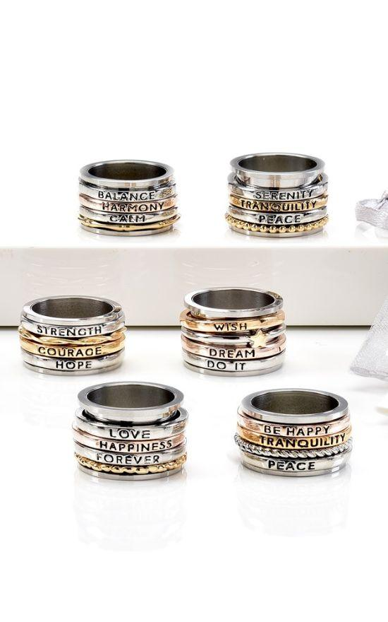 Meditation Spinner Ring-Giftcraft-Sandy's Secret Wednesdays Unique Boutique
