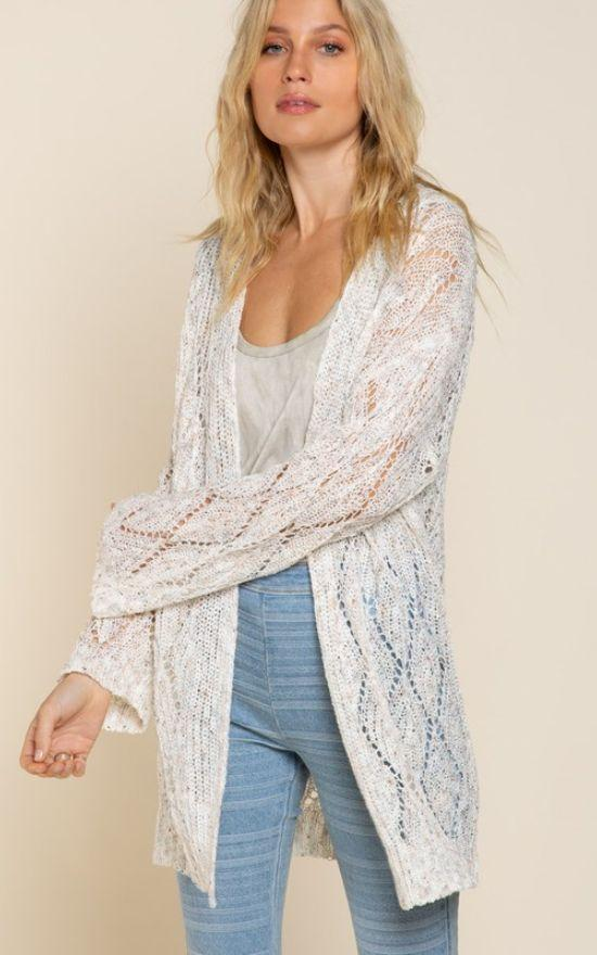 Megan Relaxed Cardigan-POL-Sandy's Secret Wednesdays Unique Boutique