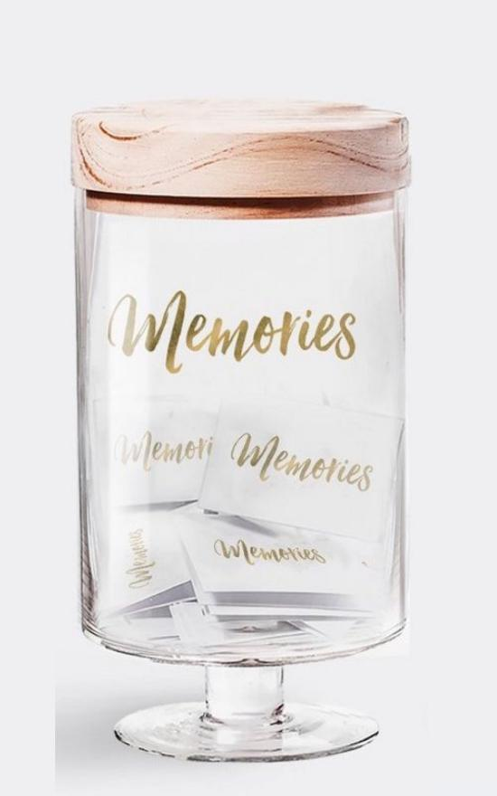 Memories Jar-Gratitude Glass Jars-Sandy's Secret Wednesdays Unique Boutique