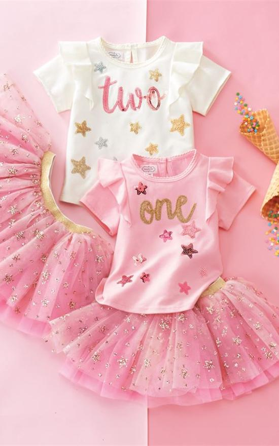 Mud Pie Baby Birthday Set-Mud Pie-Sandy's Secret Wednesdays Unique Boutique