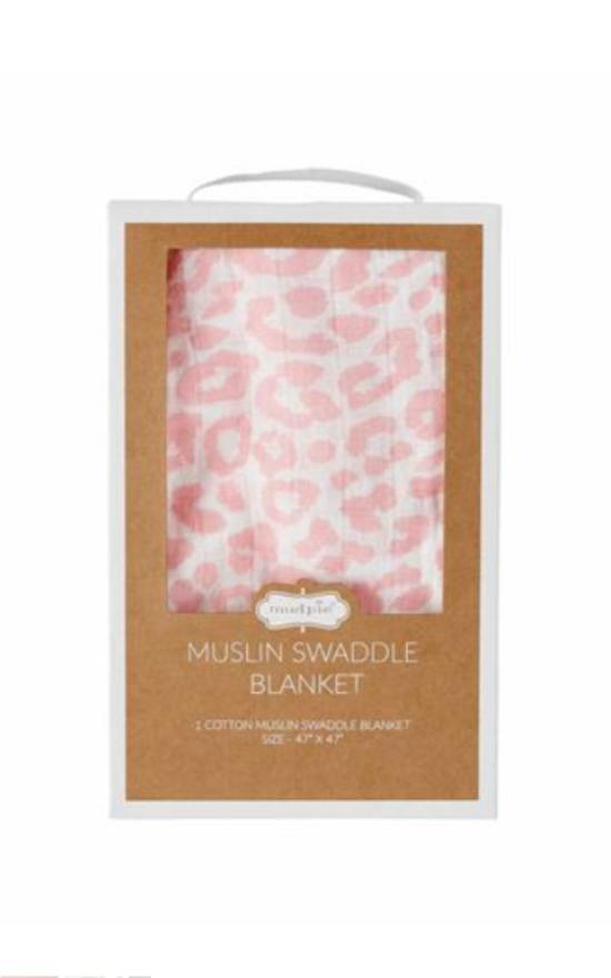 * Mud Pie Baby Swaddle Blanket-Mud Pie-Sandy's Secret Wednesdays Unique Boutique