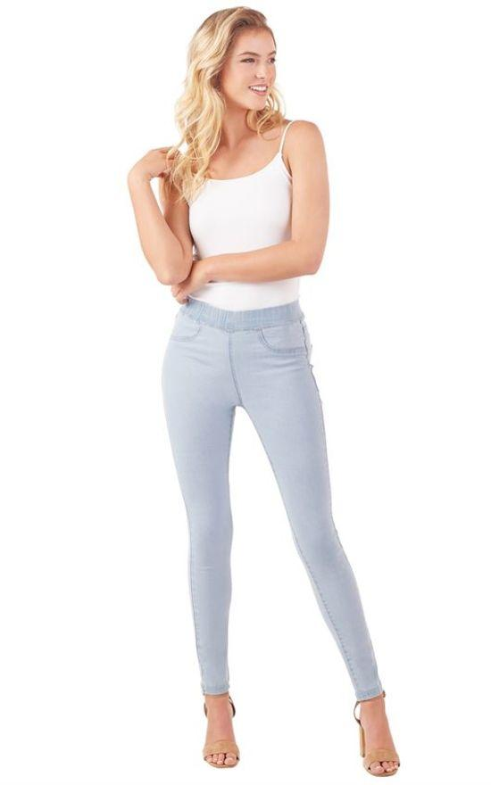 Mud Pie Elyse Denim Legging-Mud Pie-Sandy's Secret Wednesdays Unique Boutique