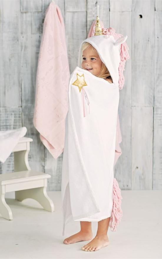 Mud Pie Hooded Towel-Mud Pie-Sandy's Secret Wednesdays Unique Boutique