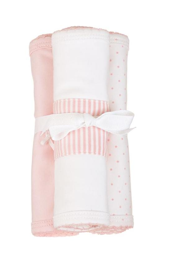 Mud Pie Layette Burp Cloth Set-Mud Pie-Sandy's Secret Wednesdays Unique Boutique