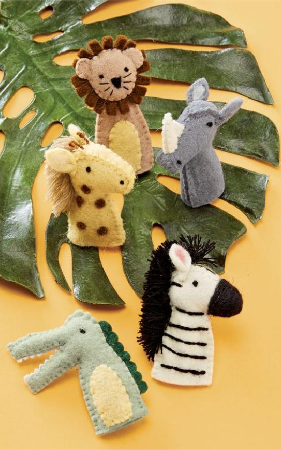 Mud Pie Safari Finger Puppet Set-Mud Pie-Sandy's Secret Wednesdays Unique Boutique