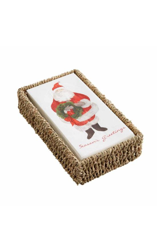 Mud Pie Santa Napkin Set-Mud Pie-Sandy's Secret Wednesdays Unique Boutique