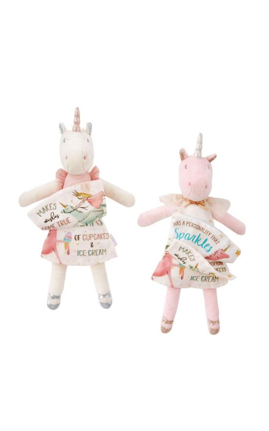 Mud Pie Unicorn Doll Book-Mud Pie-Sandy's Secret Wednesdays Unique Boutique
